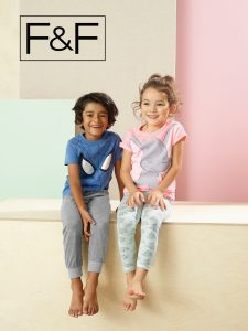 Anela and Ajay for Tesco F&F