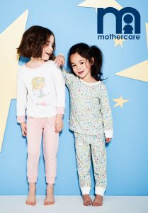 Anouk and Elizabeth for Mothercare