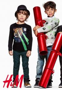 Benjamin and James for H&M