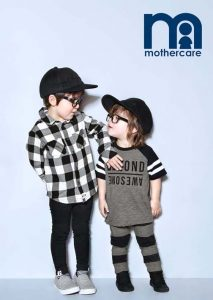 Sam and Albie for Mothercare