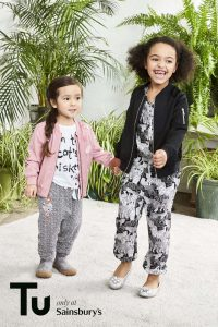 Sienna and Oa for Sainsbury's Tu